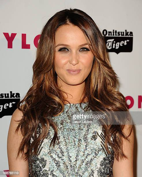 Actress Camilla Luddington attends Nylon Magazine's Young Hollywood issue event at The Roosevelt Hotel on May 14 2013 in Hollywood California