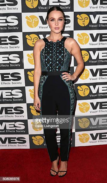 Actress Camilla Luddington attends the 14th Annual VES Awards at The Beverly Hilton Hotel on February 2 2016 in Beverly Hills California