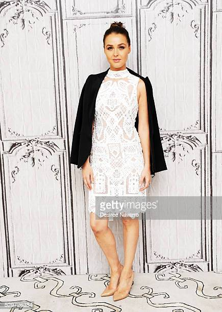 Actress Camilla Luddington attends the AOL Build Speaker Series to discuss 'Greys' Anatomy' on May 09 2016 in New York New York