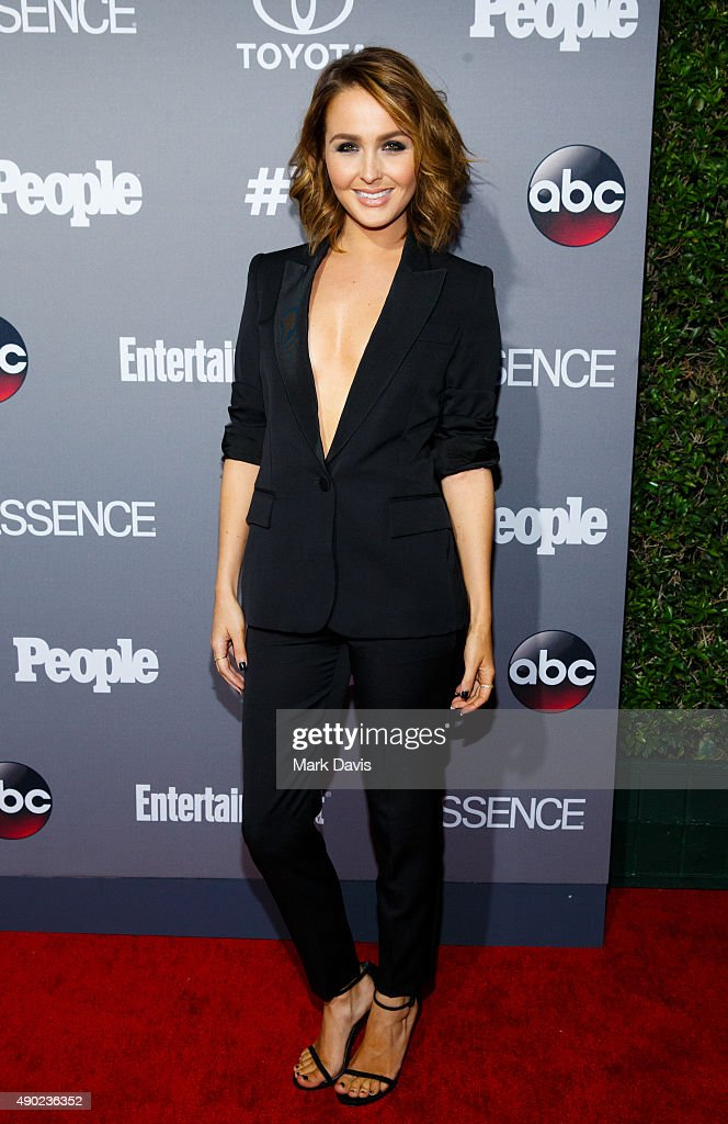 Actress Camilla Luddington attends the celebration of ABC's TGIT Line-up held at Gracias Madre on September 26, 2015 in West Hollywood, California.