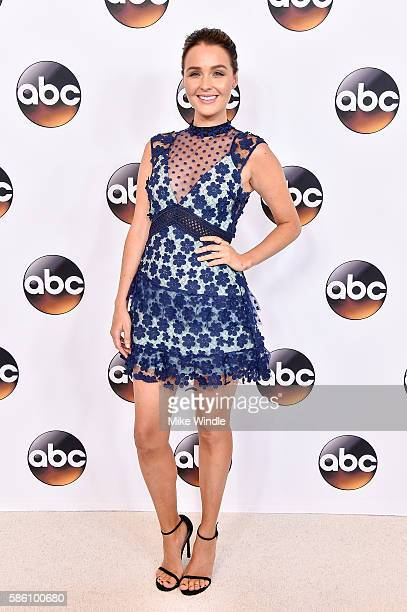 Actress Camilla Luddington attends the Disney ABC Television Group TCA Summer Press Tour on August 4, 2016 in Beverly Hills, California.