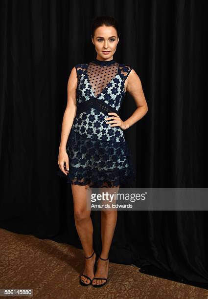 Actress Camilla Luddington attends the Disney ABC Television Group TCA Summer Press Tour on August 4 2016 in Beverly Hills California