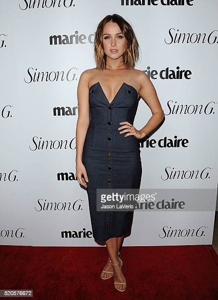Actress Camilla Luddington attends the Marie Claire Fresh Faces party at Sunset Tower Hotel on April 11 2016 in West Hollywood California