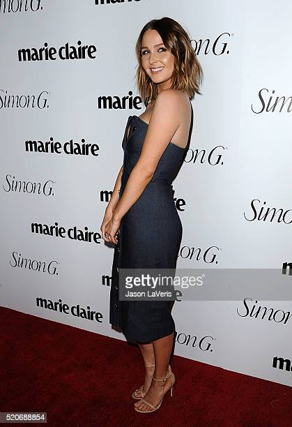 Actress Camilla Luddington attends the Marie Claire Fresh Faces party at Sunset Tower Hotel on April 11, 2016 in West Hollywood, California.