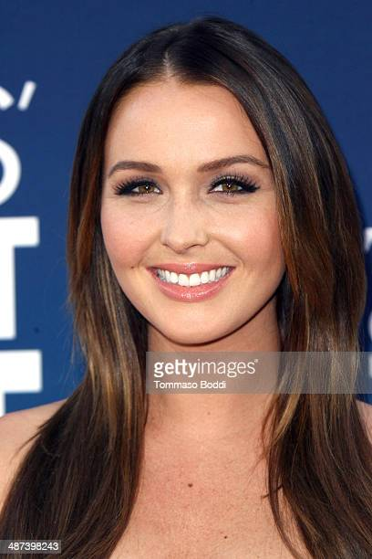 Actress Camilla Luddington attends the 'Mom's Night Out' Los Angeles premiere held at the TCL Chinese Theatre IMAX on April 29 2014 in Hollywood...