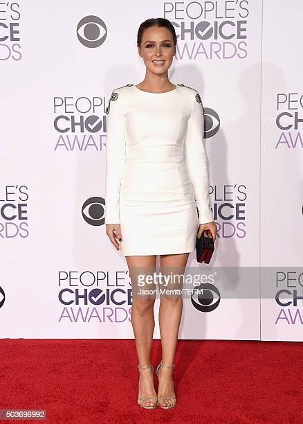 Actress Camilla Luddington attends the People's Choice Awards 2016 at Microsoft Theater on January 6 2016 in Los Angeles California