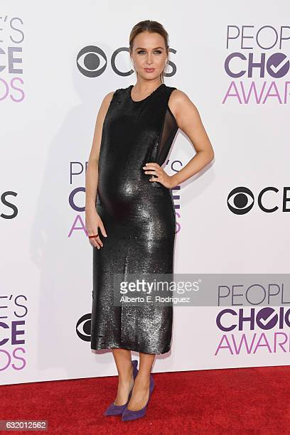 Actress Camilla Luddington attends the People's Choice Awards 2017 at Microsoft Theater on January 18, 2017 in Los Angeles, California.