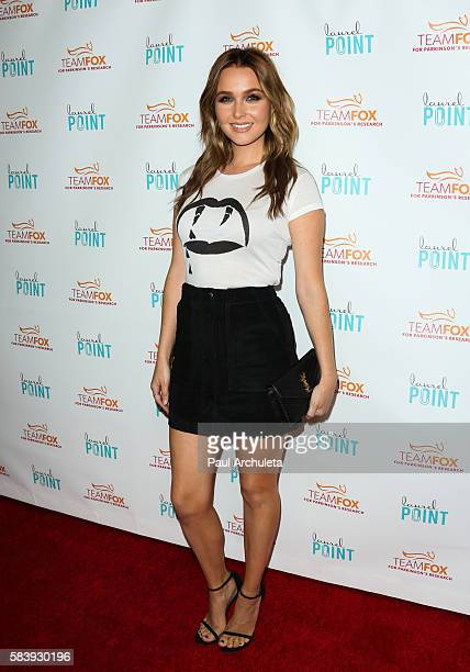 Actress Camilla Luddington attends the Raising The Bar To End Parkinson's at Laurel Point on July 27 2016 in Studio City California