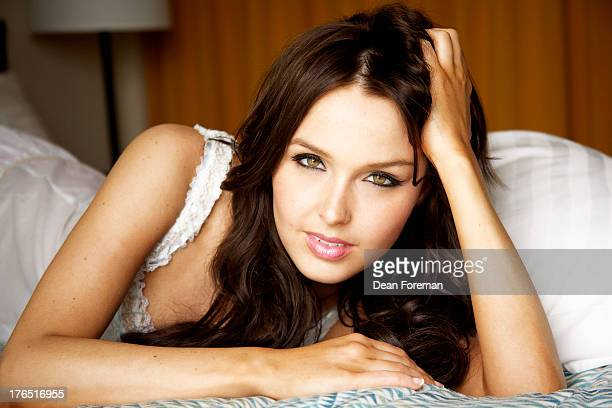 Actress Camilla Luddington is photographed for Maxim Magazine on April 20 2011 in Los Angeles California