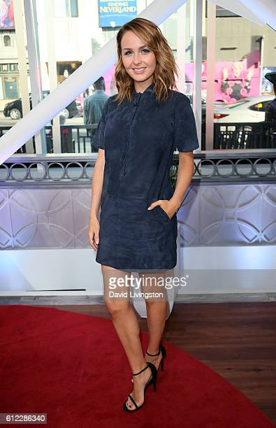Actress Camilla Luddington visits Hollywood Today Live at W Hollywood on October 3 2016 in Hollywood California