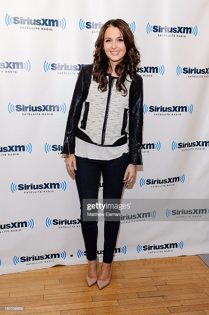 Actress Camilla Luddington visits SiriusXM Studios on February 20, 2013 in New York City.