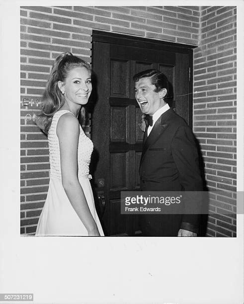 Actress Camilla Sparv and her husband record producer Robert Evans arriving at the Daisy Club September 4th 1967