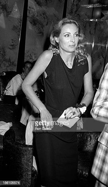 Actress Camilla Sparv attending the premiere party for 'The Greek Tycoon' on May 11 1978 at Regine's in New York City New York