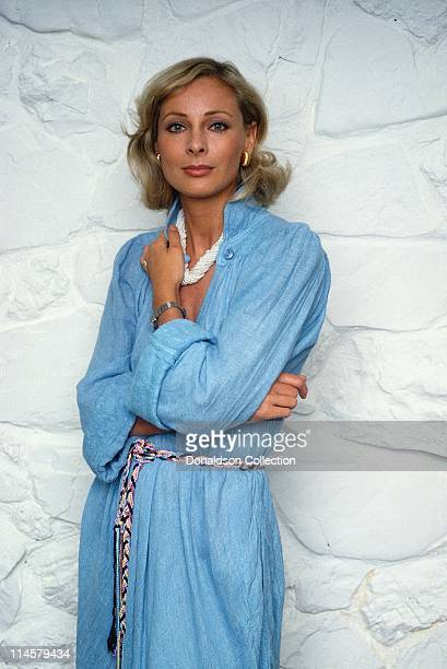 Actress Camilla Sparv poses for a portrait in circa 1985 in Los Angeles California