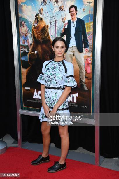 Actress Camilla Wolfson arrives for the premiere of Paramount Pictures' 'Action Point' at the ArcLight Hollywood in Hollywood California on May 31...