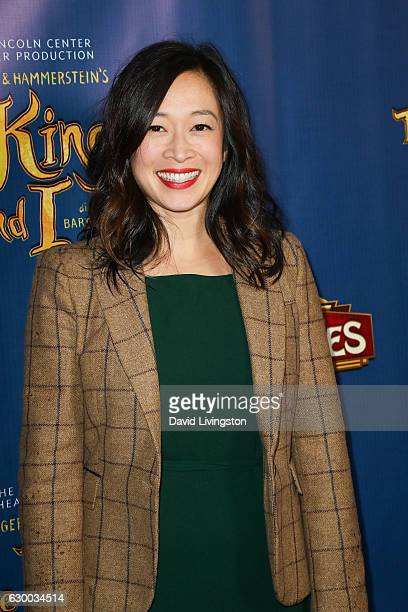 Actress Camille Chen arrives at the Opening Night of The Lincoln Center Theater's Production Of Rodgers and Hammerstein's The King and I at the...
