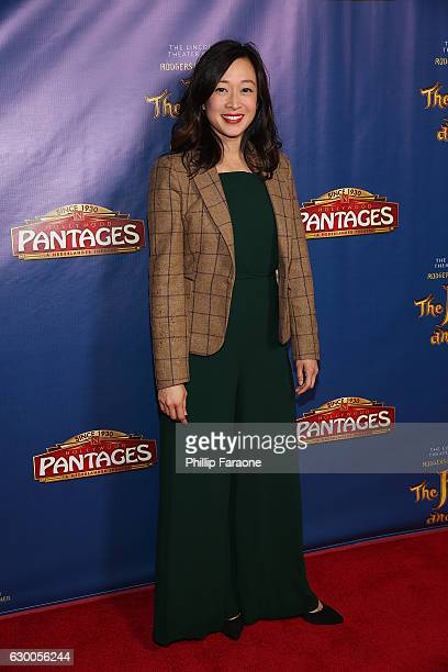 Actress Camille Chen attends Opening Night of The Lincoln Center Theater's Production of Rodgers and Hammerstein's 'The King and I' at the Pantages...