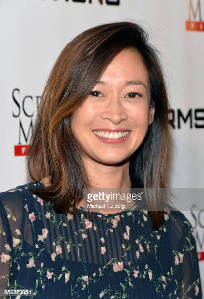 Actress Camille Chen attends the premiere of Screen Media Films' Armstrong at Laemmle's Music Hall Theatre on October 2 2017 in Beverly Hills...