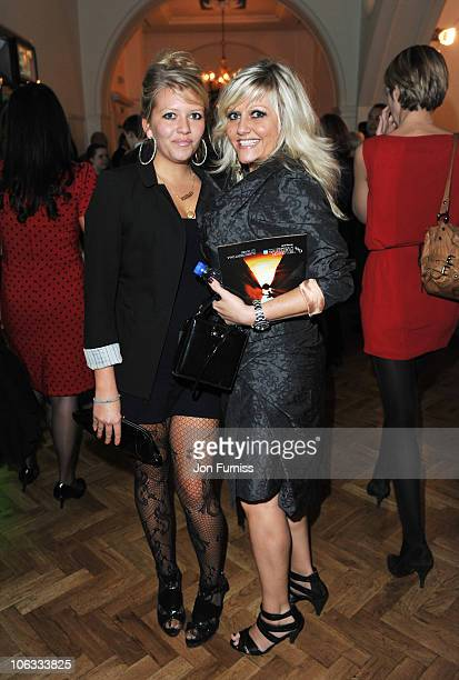 Actress Camille Coduri and daughter Rosa Coduri attend the after party for the European Premiere of '127 Hours' during the closing gala of the 54th...