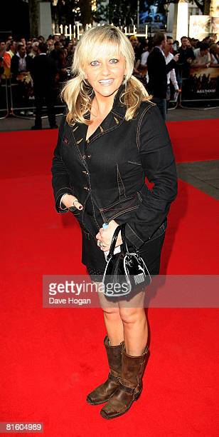 Actress Camille Coduri arrives at the UK premiere of 'Adulthood' at the Empire Cinema Leicester Square on June 17 2008 in London England
