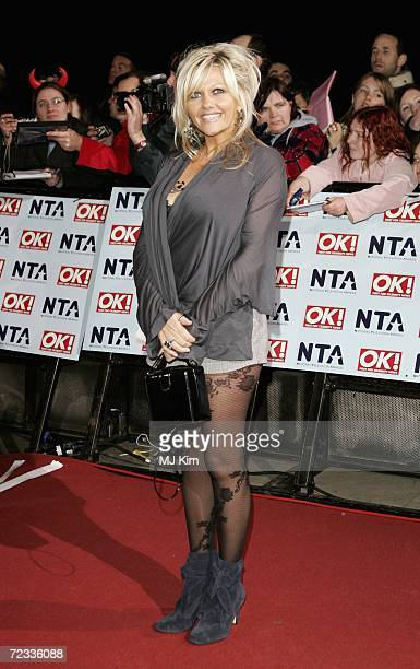 Actress Camille Coduri attends the National Television Awards 2006 held at the Royal Albert Hall on October 31 2006 in London England