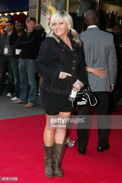 Actress Camille Coduri attends the world premiere of Adulthood at the Empire Leicester Square on June 17 2008 in London England
