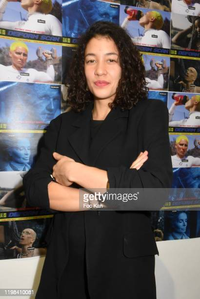 Actress Camille Constantin attend «Deform Scan» Premiere Exhibition Preview at Galerie W Landeau on January 8 2020 in Paris France