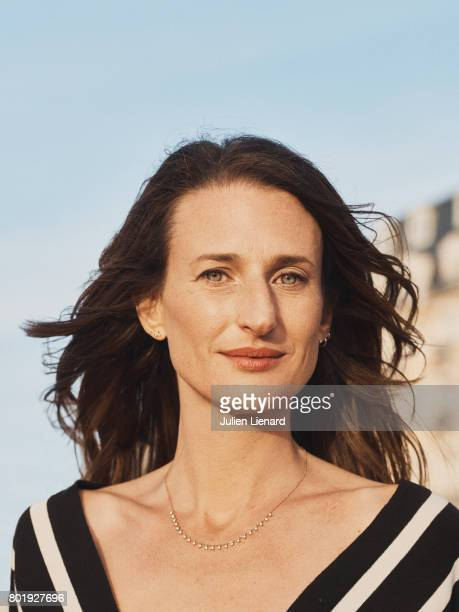 Actress Camille Cottin is photographed for Self Assignment on June 15 2017 in Cabourg France
