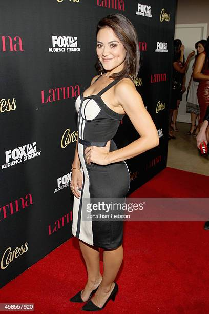 Actress Camille Guaty attends Latina Magazine's Hollywood Hot List Party at Sunset Tower on October 2 2014 in West Hollywood California