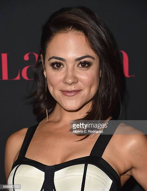 Actress Camille Guaty attends LATINA Magazine's Hollywood Hot List party at the Sunset Tower Hotel on October 2 2014 in West Hollywood California