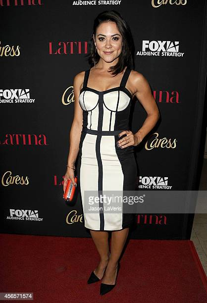 Actress Camille Guaty attends the Latina Magazine Hollywood Hot List party at Sunset Tower Hotel on October 2 2014 in West Hollywood California