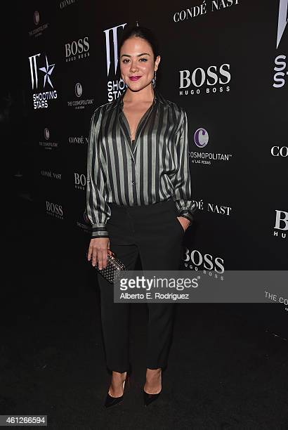 Actress Camille Guaty attends the W Magazine Shooting Stars Exhibit Opening at Wilshire May Company Building on January 9 2015 in Los Angeles...