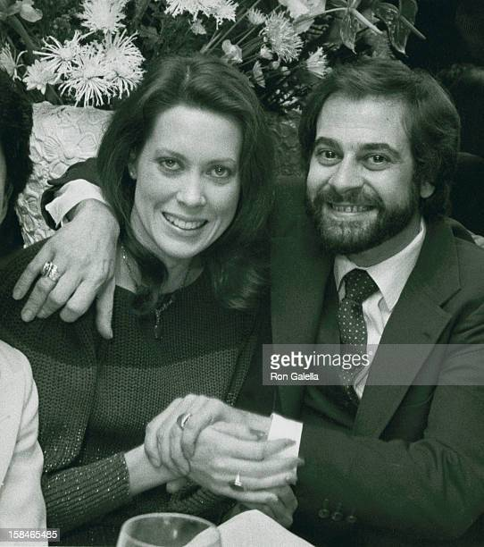 Actress Camille Hagen and actor Marcelo Guilis being photographed on January 18 1982 La Cage Aux Folles in Beverly Hills California
