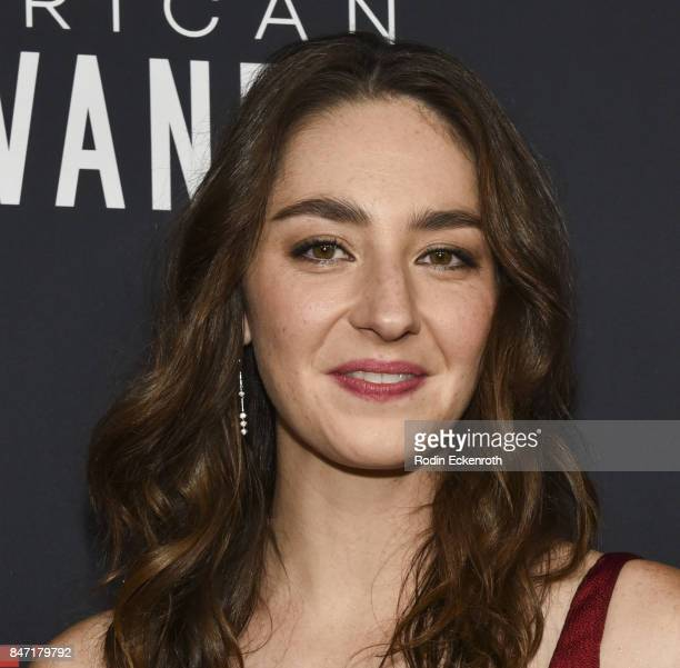 Actress Camille Ramsey attends the premiere of Netflix's American Vandal at ArcLight Hollywood on September 14 2017 in Hollywood California