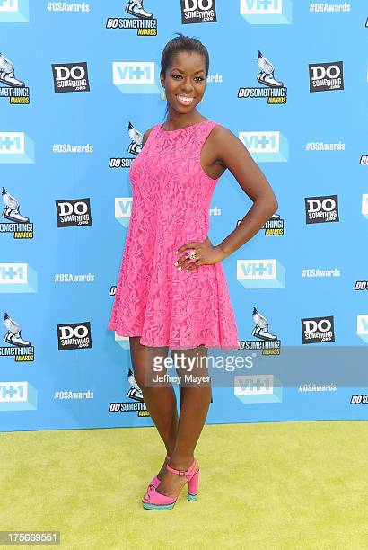 Actress Camille Winbush arrives at the DoSomething.org and VH1's 2013 Do Something Awards at Avalon on July 31, 2013 in Hollywood, California.