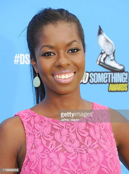 Actress Camille Winbush arrives at the DoSomethingorg and VH1's 2013 Do Something Awards at Avalon on July 31 2013 in Hollywood CaliforniaHOLLYWOOD...