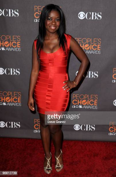 Actress Camille Winbush arrives at the People's Choice Awards 2010 held at Nokia Theatre LA Live on January 6 2010 in Los Angeles California
