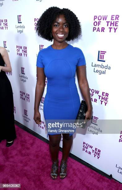 Actress Camille Winbush attends the Lambda Legal 2018 West Coast Liberty Awards at the SLS Hotel on June 7 2018 in Beverly Hills California