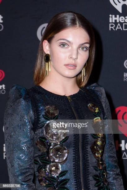 Actress Camren Bicondova attends the 2017 iHeartRadio Canada Jingle Ball at the Air Canada Centre on December 9 2017 in Toronto Canada