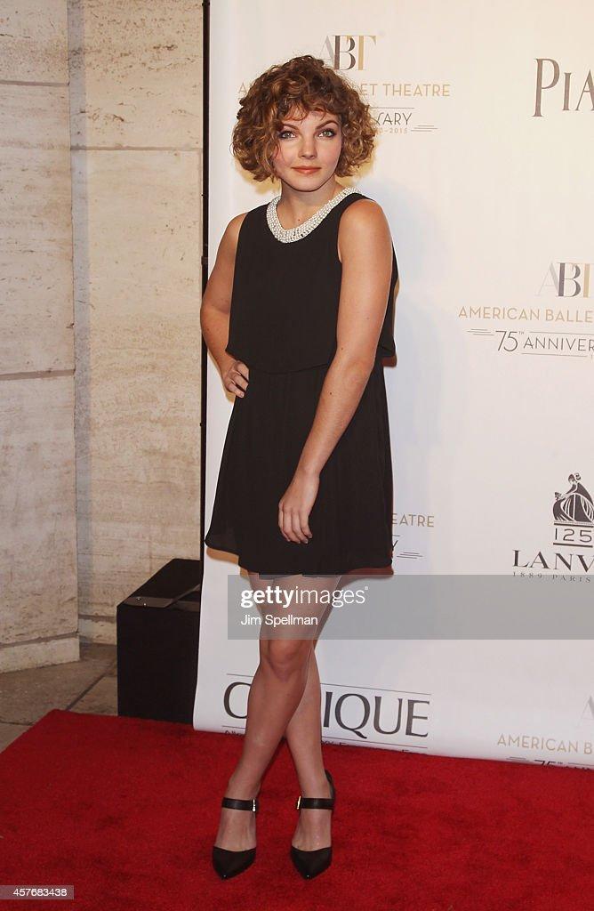 Actress Camren Bicondova attends the American Ballet