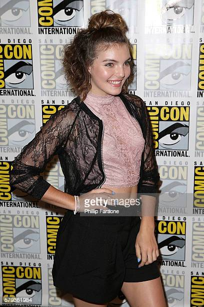 Actress Camren Bicondova attends the 'Gotham' press line during ComicCon International 2016 on July 23 2016 in San Diego California