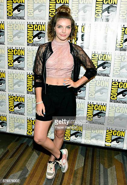 Actress Camren Bicondova attends the 'Gotham' press line during ComicCon International 2016 at Hilton Bayfront on July 23 2016 in San Diego California