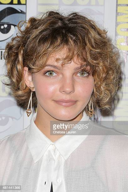Actress Camren Bicondova attends the 'Gotham' press room on July 11 2015 in San Diego California