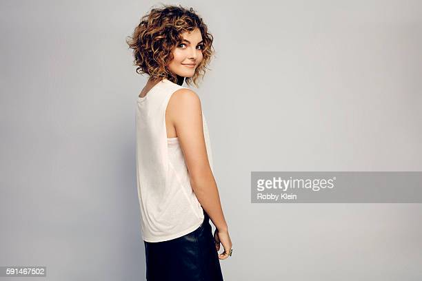 Actress Camren Bicondova from FOX's 'Gotham' poses for a portrait at the FOX Summer TCA Press Tour at Soho House on August 9 2016 in Los Angeles...