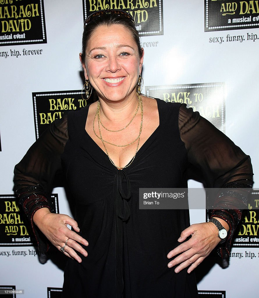 Actress Camryn Manheim arrives at 'Back to Bacharach and David' Opening Night at The Music Box @ Fonda on April 19, 2009 in Hollywood, California.