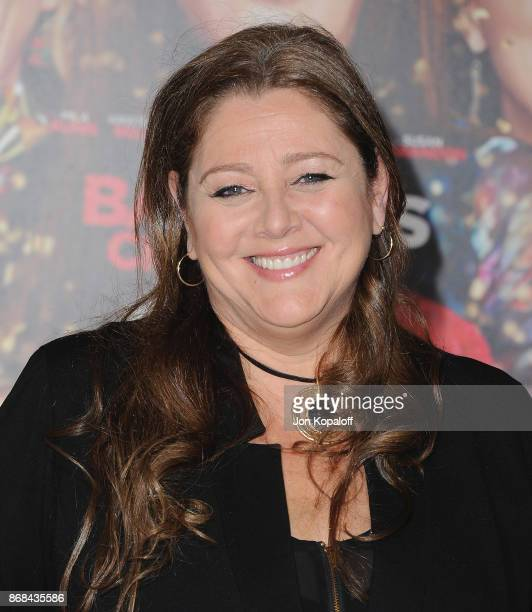 Actress Camryn Manheim arrives at the Los Angeles Premiere of 'A Bad Moms Christmas' at Regency Village Theatre on October 30 2017 in Westwood...