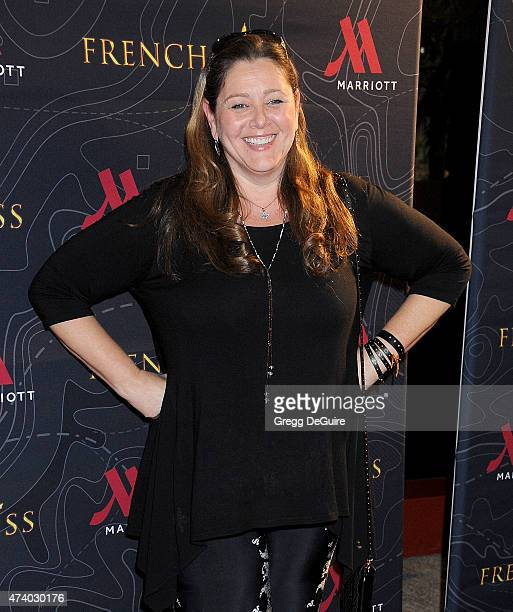 Actress Camryn Manheim arrives at the premiere of French Kiss at the Marina del Rey Marriott on May 19 2015 in Marina del Rey California