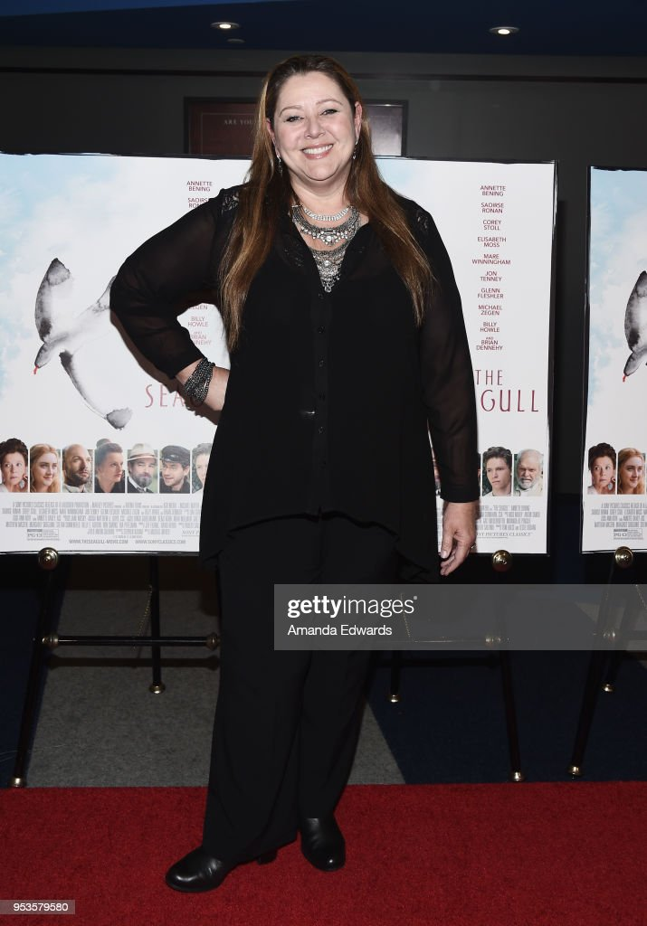 Actress Camryn Manheim arrives at the premiere of Sony Pictures Classics' 'The Seagull' at the Writers Guild Theater on May 1, 2018 in Beverly Hills, California.