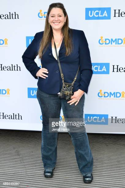 Actress Camryn Manheim attends Dealing for Duchenne Celebrity Poker Tournament Benefiting UCLA Center for Duchenne Muscular Dystrophy at Sony...