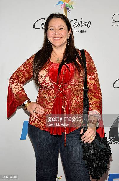 Actress Camryn Manheim attends the 8th Annual World Poker Tour Invitational at Commerce Casino on February 20 2010 in City of Commerce California